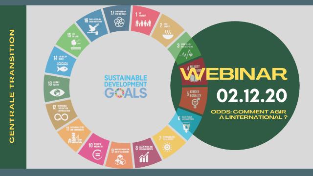 Webinaire - Objectifs du développement durable : comment agir à l'international ?